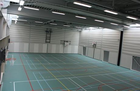 de Heemraad nieuwbouw - Sporthal Westwijk