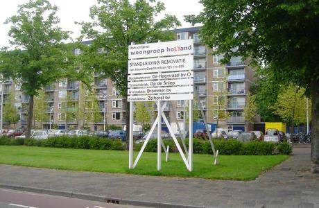 de Heeraad renovatie - van Heuven Goedhartlaan